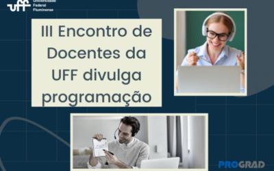 III Encontro de Docentes da UFF divulga programação