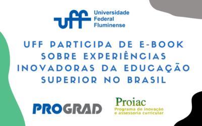 UFF participa de e-book sobre experiências inovadoras da educação superior no Brasil